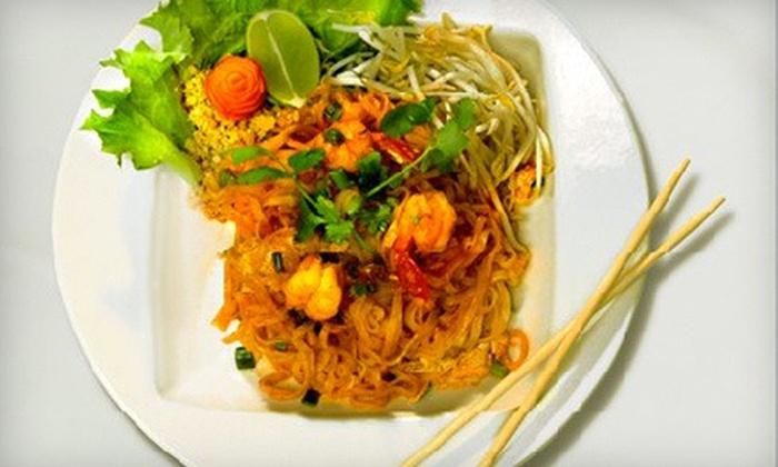 Beauregard's Thai Room - Monroe Ward: Thai Meals for Two or Four at Beauregard's Thai Room (Up to 53% Off)