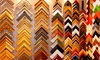 18th Street Framing - Multiple Locations: Custom Framing or Canvas Stretching from 18th Street Framing (Up to 74% Off). Four Options Available.