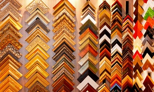 18th Street Framing: $49 for $200 Worth of Custom Framing from 18th Street Framing