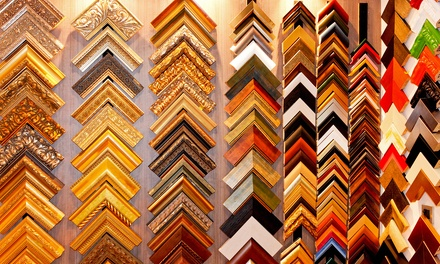 $49 for $200 Worth of Custom Framing from 18th Street Framing