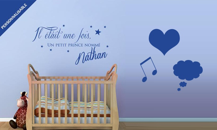 stickers muraux originaux ambiance sticker groupon. Black Bedroom Furniture Sets. Home Design Ideas