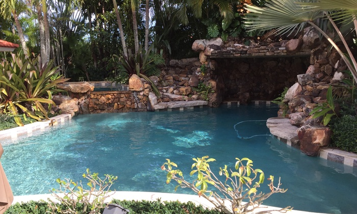 KLR Professional Pool Service - Fort Lauderdale: Two Weekly Full-Service Pool Cleanings at KLR Professional Pool Service (78% Off)