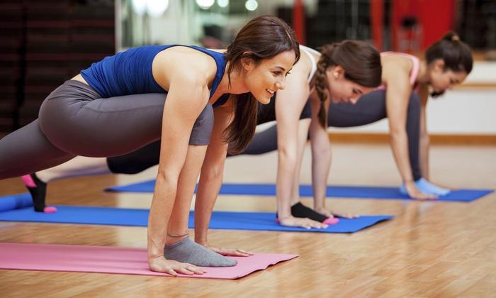 Glow Hot Yoga - Glow Hot Yoga: Four Weeks of Hot Yoga Classes at Glow Hot Yoga (65% Off)