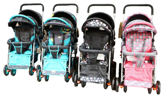Adelina Designer Double Stroller