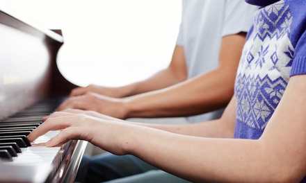 Two or Four Private Voice or Piano Lessons from Sostenuto Music (Up to 51% Off)
