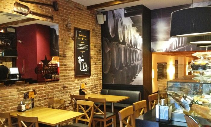 Menú de ibéricos en Muntaner - DEHESA SANTA MARIA - MUNTANER | Groupon