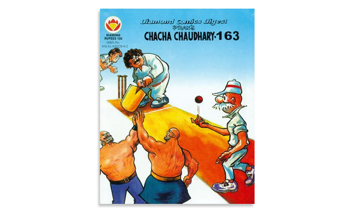 Collector's edition Chacha Chaudhary comics autographed by