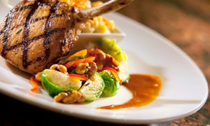 Commerce Street Grille: Casual Grill Fare and Drinks at Commerce Street Grille (Up to 45% Off). Two Options Available.