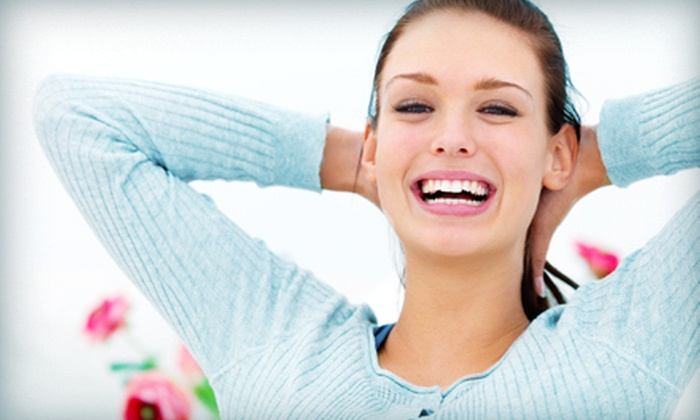 Queens Family Dental - Multiple Locations: Exam, X-rays, and Cleaning, With or Without Teeth Whitening at Queens Family Dental (Up to 85% Off)
