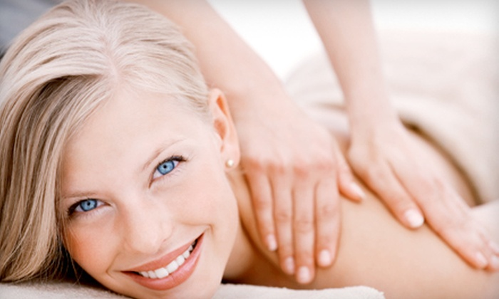 Spoiled Spa and Salon - Orchards Area: $60 for a Massage Package with Gelish Manicure, Shampoo, and Blow-Dry at Spoiled Spa and Salon in Vancouver ($120 Value)