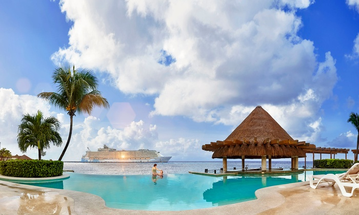 c4abcd5844bb 3-Night All-Inclusive Grand Park Royal Cozumel Stay with Air from ...