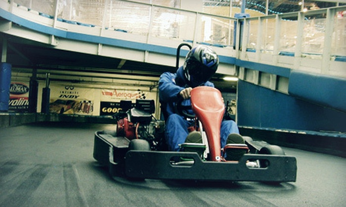 Fastimes Indoor Karting - Indianapolis: $20 for Two Eight-Minute Race Experiences at Fastimes Indoor Karting ($40 Value)