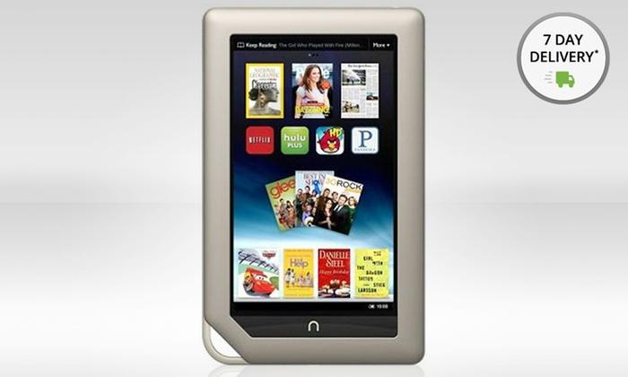 """Nook 7"""" 16GB Tablet: Nook7"""" 16GB Tablet (BNTV250) (Manufacturer Refurbished). Free Returns."""