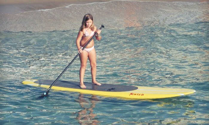 Island Water Sports - Deerfield Beach: $20 for a Four-Hour Standup-Paddleboard Rental from Island Water Sports in Deerfield Beach ($45 Value)