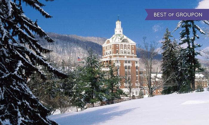 The Omni Homestead Resort - Hot Springs, VA: Stay at The Omni Homestead Resort in Hot Springs, VA. Dates into May.