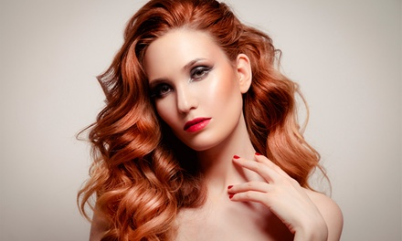 Wash, Treatment and BlowDry $35 or $85 to Add Style Cut + Full Head of Foils at Elvis Hair Studio Up to $213 Value