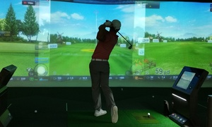 Swing Park: 2-, or 4-Hour Virtual Golf for Two or Four People at Swing Park (Up to 48% Off)