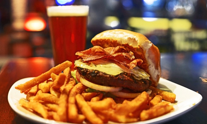 Prospect Park Sports Bar - Willowbrook: Wings, Burgers, and Pub Food at Prospect Park Sports Bar (40% Off). Two Options Available.
