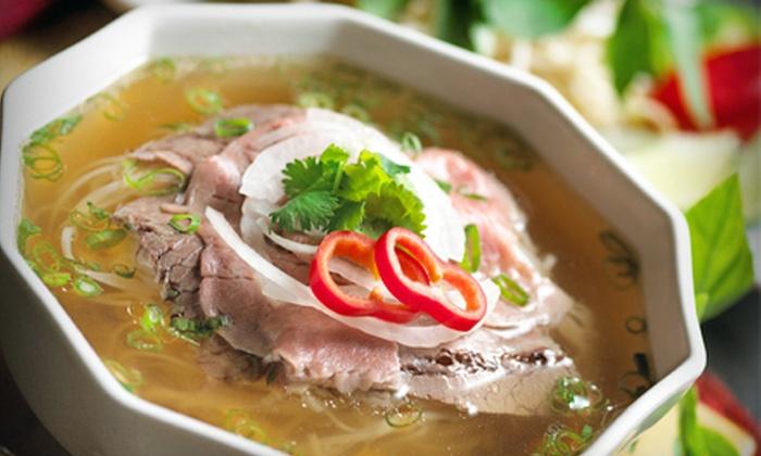 V Bistro Noodle & Grill - Lolaville: $8 for $16 of Vietnamese Fare at V Bistro Noodle & Grill in Plano