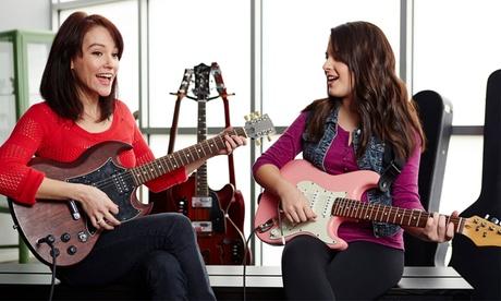Korting Muzieklessen bij Rockademy