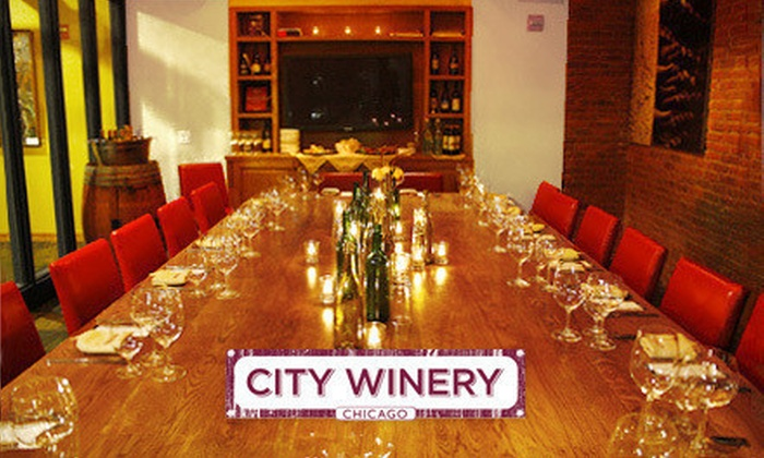 City Winery - City Winery: $1,750 for a Private Gourmet Dinner and Wine Tasting for Up to 10 People at City Winery (Up to $4,299 Value)