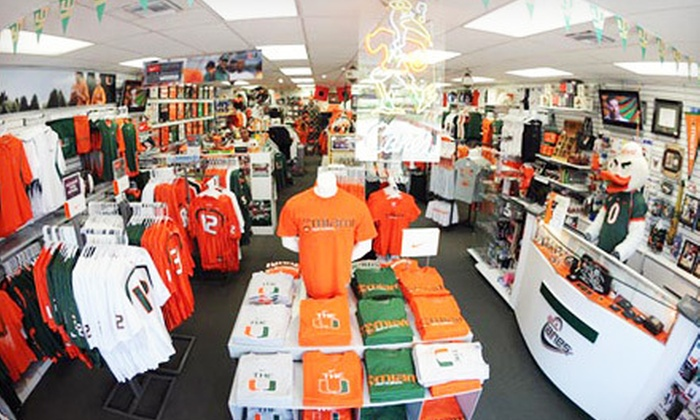allCanes - Coral Gables: $20 for $40 Worth of Miami Hurricanes Apparel and Accessories from allCanes In-Store or Online