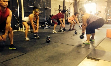 Four Weeks of Gym Membership at Grow Strong Strength and Conditioning (70% Off)