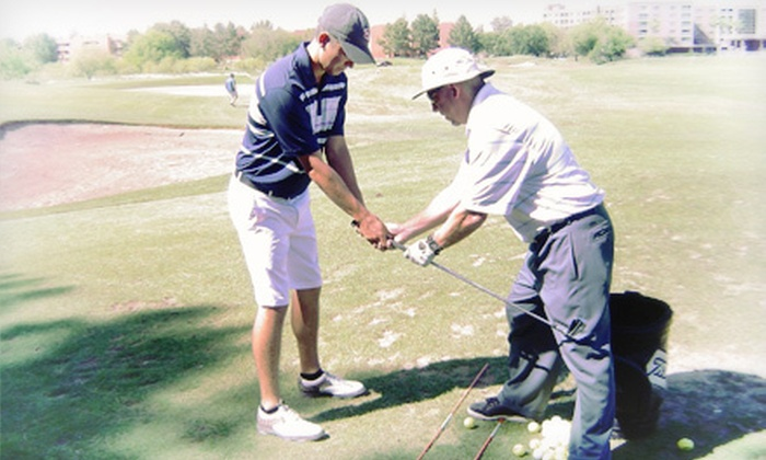 Maple Leaf Golf Academy - Paradise Valley: Three Private Lessons, or Two Private Lessons, Round, and Range Practice at Maple Leaf Golf Academy (Up to 65% Off)