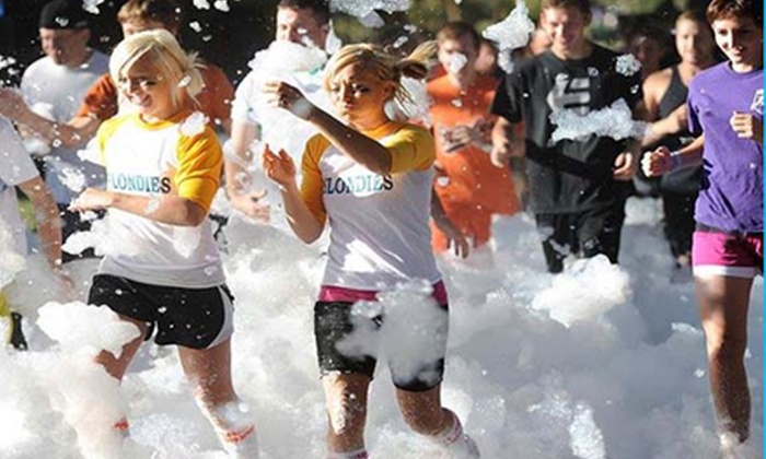 Foam Fun Run - Tumbleweed Park: $29 for 5K Foam Fun Run on Saturday, October 26, at 8:30 a.m. ($60 Value)