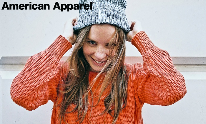 American Apparel - Modesto: Clothing and Accessories In-Store from American Apparel (Half Off). Two Options Available. Valid in US Only