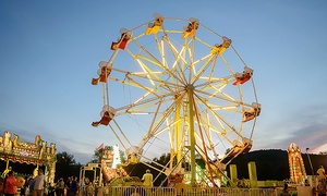 Tri-County Fair: $25 for 20 Ride Tickets and Cotton Candy or Popcorn at Tri-County Fair - Rockaway, NJ ($37 Value)