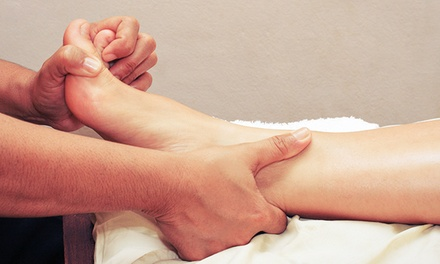 $42 for an 80-Minute Foot and Body Massage with Hot Stones at Oceanic Foot Spa ($80 Value)