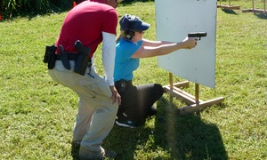 Miami Firearms Training: Concealed-Weapons-Permit Class for One or Two at Miami Firearms Training (Up to 50% Off)