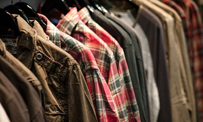 Howard Clothing Co. - South Surrey: $50 for $100 Worth of Designer Apparel at Howard Clothing Co.