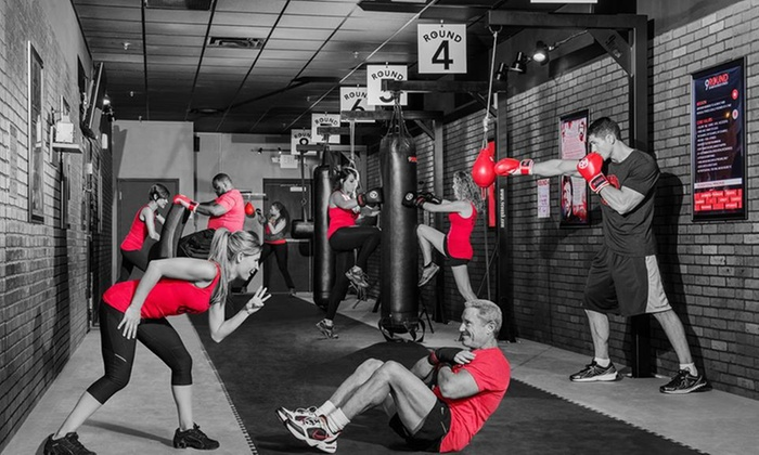 9Round 30 Min Kickbox Fitness - Carmel - Carmel: Two Weeks of Fitness and Conditioning Classes at 9round 30 Min Kickbox Fitness - Carmel (75% Off)