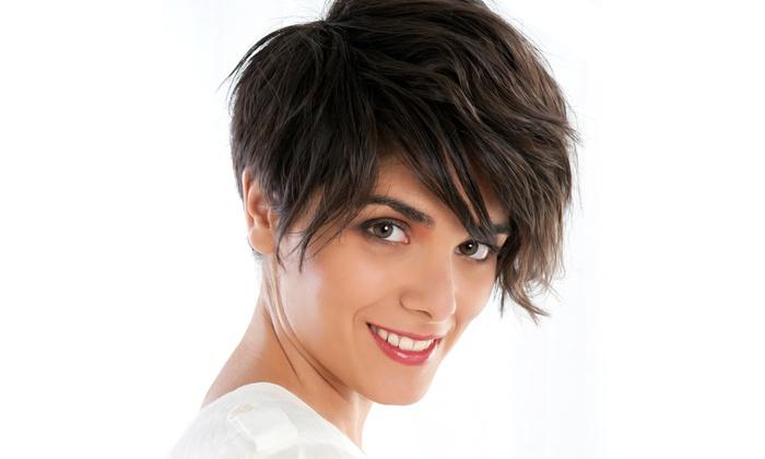 Shear Pleasure Hair Design - Shear Pleasure Hair Design: Hair Services at Shear Pleasure Hair Design (Up to 59% Off). Three Options Available.