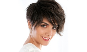 Shear Pleasure Hair Design: Hair Services at Shear Pleasure Hair Design (Up to 60% Off). Five Options Available.