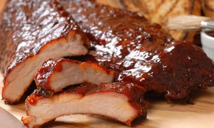 Barbecue Food for Lunch or Dinner Take-Out at Richard's Ribs (50% Off)