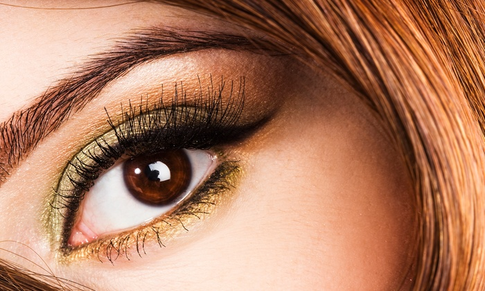 iCandy Eye Salon & Academy - Multiple Locations: Brow Tint with Design, Lash & Brow Tint with Design, or Lash Lift and Tint at iCandy Eye Salon & Academy (Up to 51% Off)