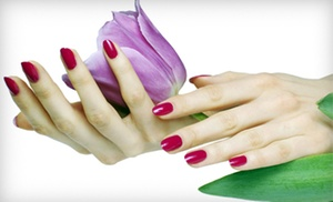 Digitz a Nail Experience: One or Two No-Chip Manicures at Digitz a Nail Experience (Up to 51% Off)