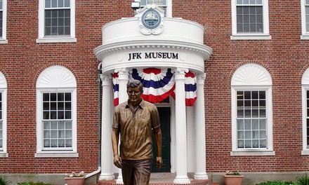 Admission for Two or Four or One-Year Individual or Family Membership to JFK Hyannis Museum (Up to 34% Off)