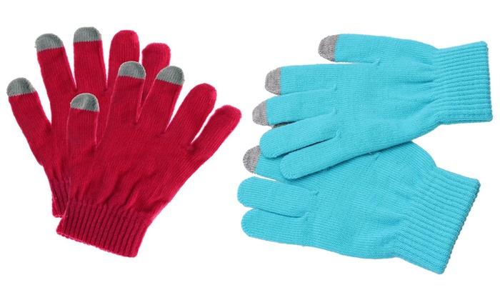 Touchscreen Winter Gloves | Groupon Goods