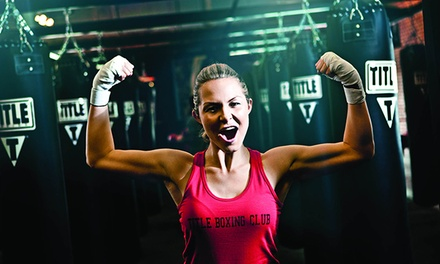 $19 for Two Weeks of Boxing and Kickboxing Classes at Title Boxing Club ($55.99 Value)