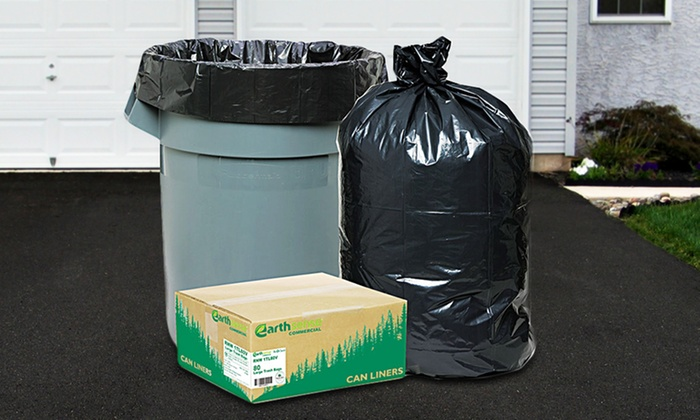 Earthsense Commercial Trash-Can Liners: Earthsense Commercial Recycled Trash and Yard Bags or Recycling-Can Liners for $12.99 or $40.99. Free Returns.