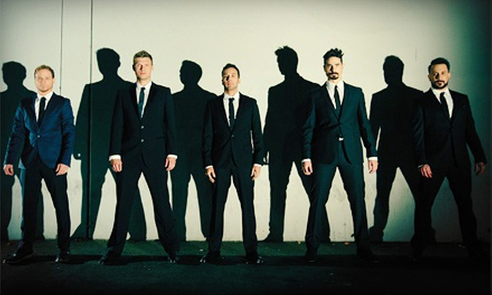 Backstreet Boys: In A World Like This Tour - Atlantic Commerce Center: Backstreet Boys: In a World Like This Tour with Jesse McCartney at Jiffy Lube Live on August 18 (Up to Half Off)