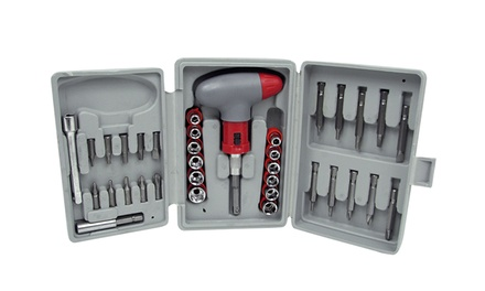 Stalwart 36-Piece Power Screwdriver Socket and Bit Set