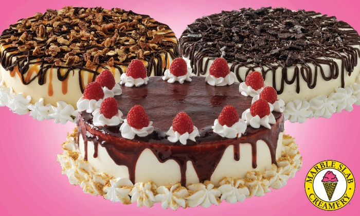 Marble Slab Creamery - Multiple Locations: C$19.99 for One Large Ice Cream Cake at Marble Slab Creamery (C$37.95 Value)
