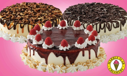 $19.99 for One Large Ice Cream Cake at Marble Slab Creamery ($37.95 Value)