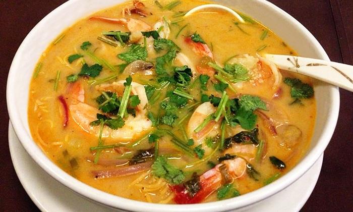 SukhoThai - Multiple Locations: Thai Dinner at SukhoThai (45% Off)