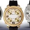 Geneva Platinum Globetrotter 4 Time Zone Men's Watch